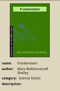 Frankenstein apk screenshot