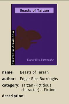 The Beasts of Tarzan apk screenshot