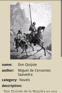 Don Quixote apk screenshot