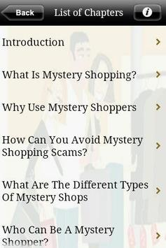 Mystery Shopping poster