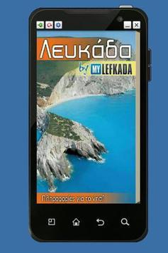 Lefkada Island Info poster