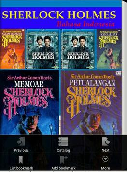 Sherlock Holmes Indonesia poster