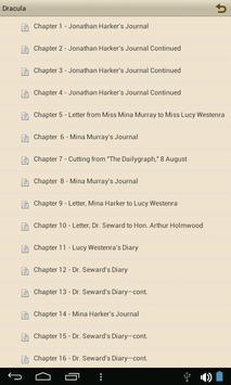 Dracula - eBook apk screenshot