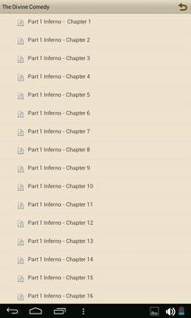 The Divine Comedy - eBook apk screenshot