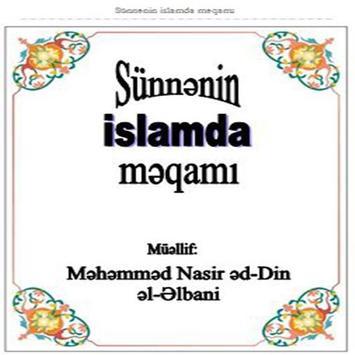 Sunnenin Islamda meqami poster