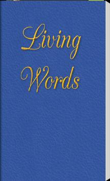 Living Words poster
