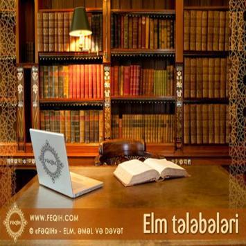 Elm Telebeleri Azerbyacan poster
