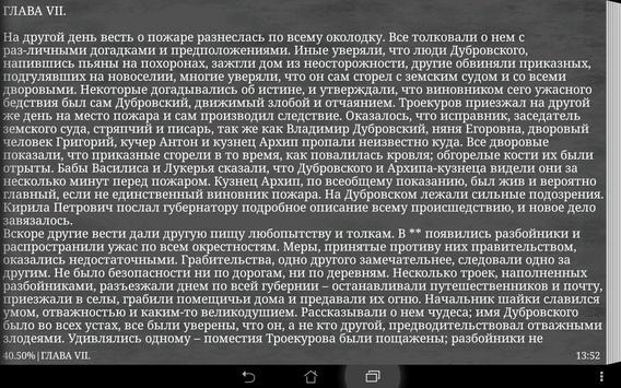 Дубровский А. С. Пушкин apk screenshot