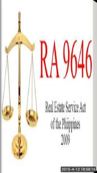 Real Estate Service Act Law poster