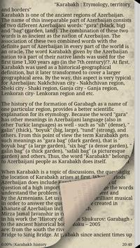 About Karabakh apk screenshot