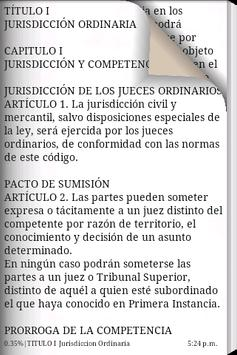C. Procesal Civil y Mercantil apk screenshot