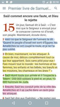 La Bible Palore Vivante apk screenshot