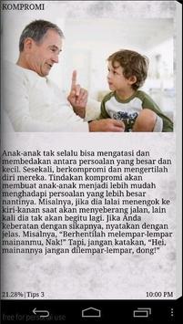 Tips Mendidik Anak Disiplin apk screenshot
