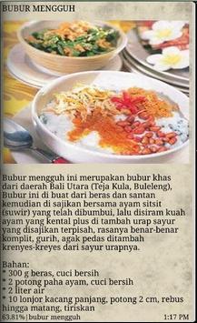 Resep Masakan Bali apk screenshot