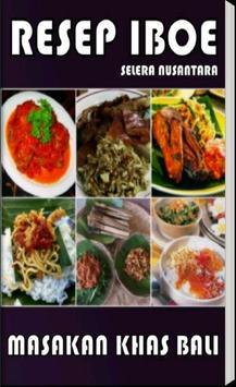 Resep Masakan Bali poster