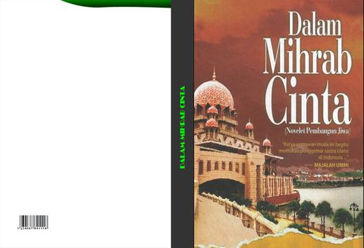 Novel Dalam Mihrab Cinta apk screenshot