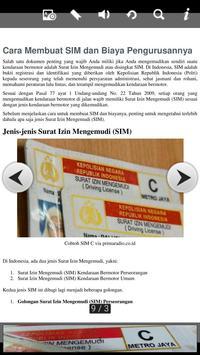 Panduan Pembuatan SIM apk screenshot