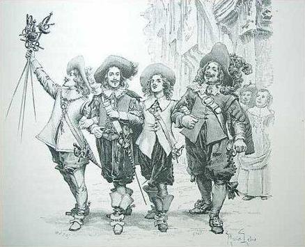 Три мушкетера.Александр Дюма. apk screenshot