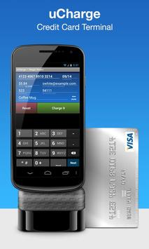 uCharge: Accept Credit Cards poster