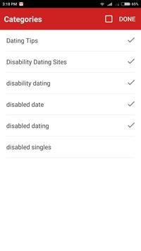 Disabled Dating apk screenshot