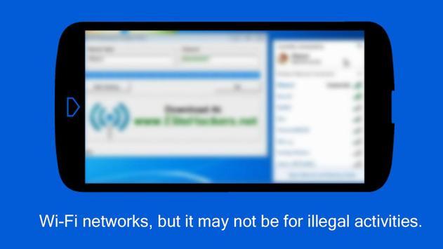 Free WiFi Password WEP WPA Tip apk screenshot