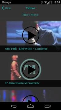 Micromusic apk screenshot