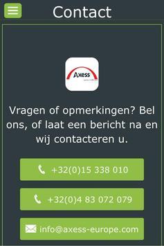 Axess apk screenshot
