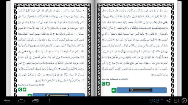 English Al Quran - Juz 2 apk screenshot