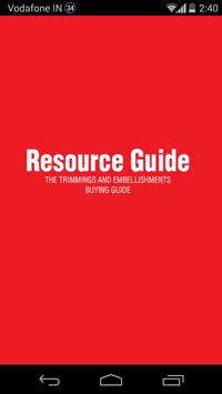 Resource Guide poster