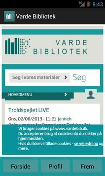 Varde Bibliotek apk screenshot