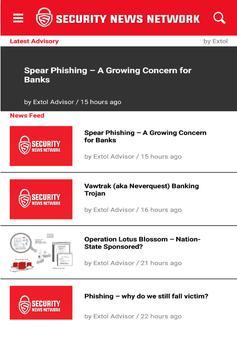 SNN - IT Security News Network apk screenshot