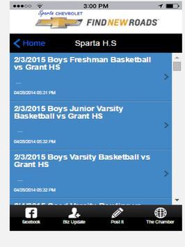 Sparta Michigan Tablet apk screenshot