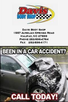 Davis Body Shop Inc poster