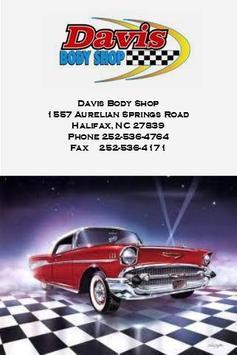 Davis Body Shop Inc apk screenshot