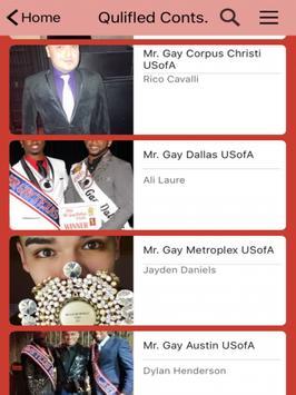 Mr. Gay Texas USofA poster