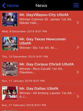 Mr. Gay Texas USofA apk screenshot