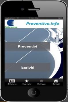 Preventivo poster