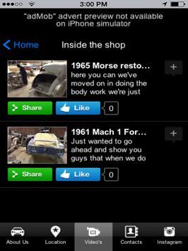 Gios Auto Body Shop App apk screenshot