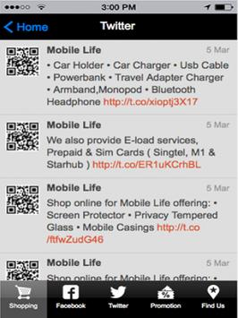Mobile Life Singapore apk screenshot