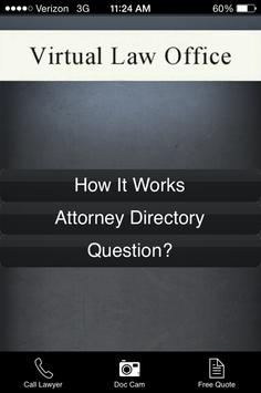 Virtual Law Office poster