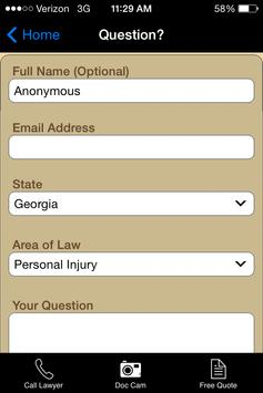 Virtual Law Office apk screenshot