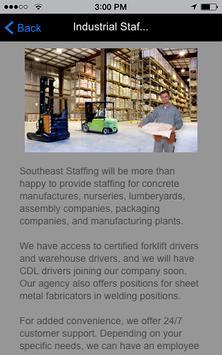 Southeast Staffing, Inc apk screenshot