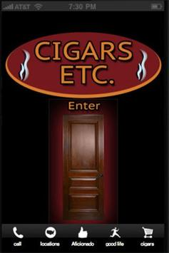 Cigars Etc poster