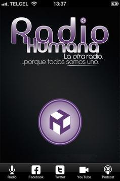 Radio Humana poster