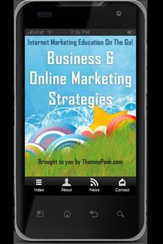 Marketing Strategies Free poster
