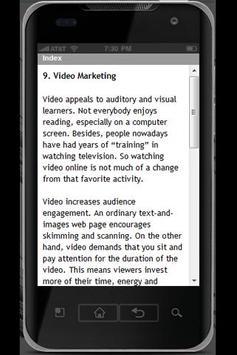 Marketing Strategies Free apk screenshot