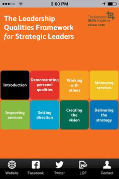 LQF for Strategic Leaders poster