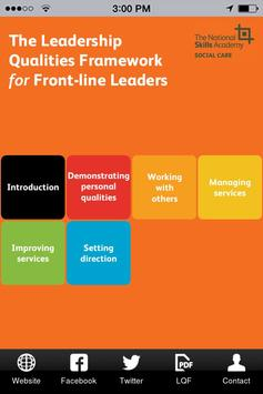 LQF for Front-line Leaders poster