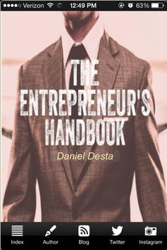 The Entrepreneur's Handbook poster
