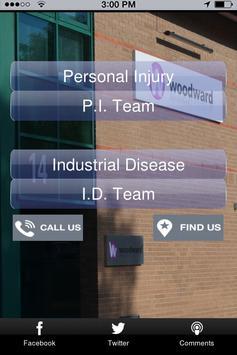 Woodward Solicitors apk screenshot